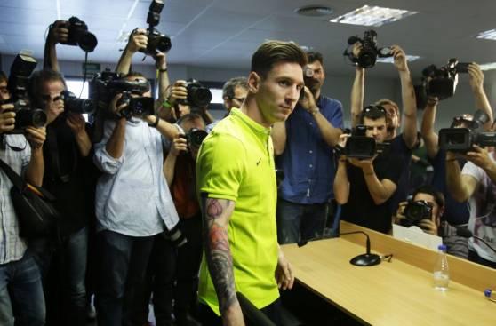 Lionel Messi en conferencia: 200 periodistas y 30 cámaras de TV