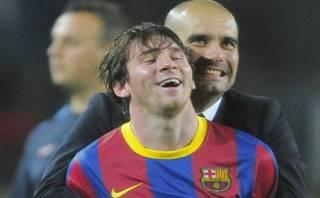 """Pep Guardiola: """"Así como está, es imposible parar a Messi"""""""