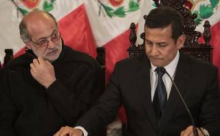 """Abugattás: """"No le recomendaría a Humala que cierre el Congreso"""""""