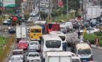 Caos en avenida que servirá de ruta alterna por obras del Metro