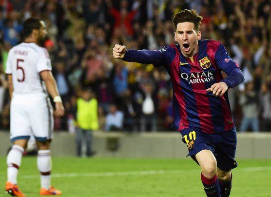 Barcelona ganó 3-0 a Bayern Múnich con doblete de Lionel Messi