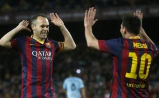 """Andrés Iniesta: """"Messi es siempre garantía para la victoria"""""""