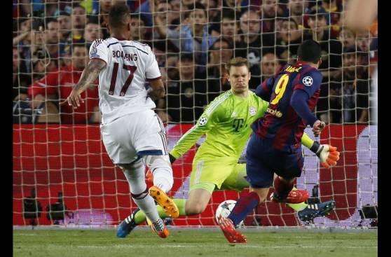 Lionel Messi y las imágenes de la goleada del Barcelona