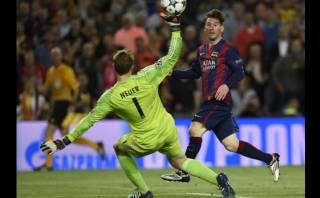 Lionel Messi: sensacional definición para doblete ante Bayern