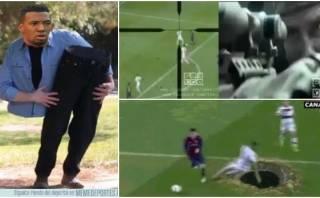 Boateng: videos graciosos y memes de su caída ante Lionel Messi
