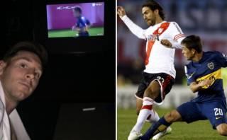 Lionel Messi se desvela en España para ver clásico River-Boca
