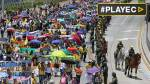 Colombia: Miles de maestros marcharon por aumentos de salarios - Noticias de aumento de sueldos