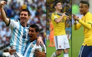 Copa América: presentes 4 de 10 futbolistas más caros del mundo