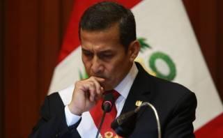 Ollanta Humala dijo que muerte de policía no quedará impune