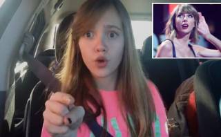 Niña se hizo famosa cantando temas de Taylor Swift [VIDEO]
