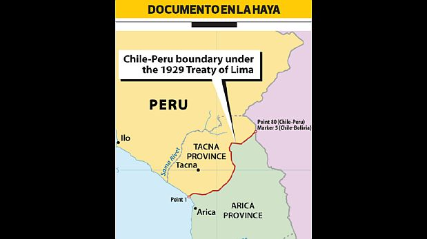 [Foto] Chile cambió el nombre de inicio de frontera terrestre con Perú