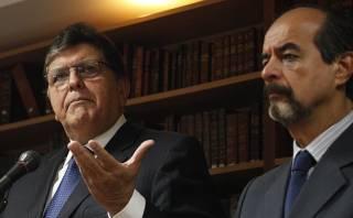 """""""Alan García es el candidato, no está dudoso"""", afirmó Mulder"""