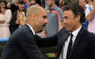 Luis Enrique confesó qué le dijo Guardiola al final del partido