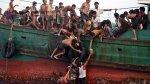 Los inmigrantes abandonados a la deriva cerca de Tailandia - Noticias de phil robertson