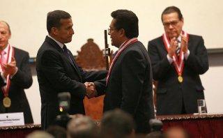 Humala: Destitución de Ramos Heredia no ayuda a imagen del Perú
