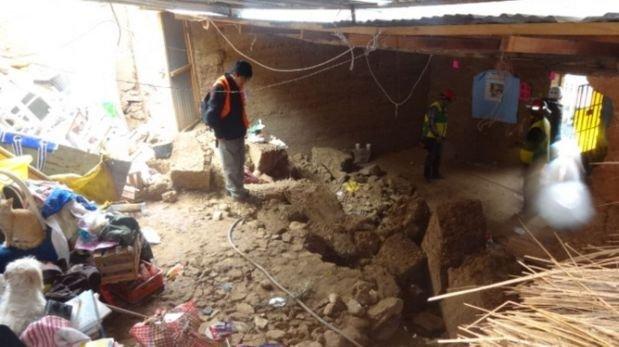 Cajamarca: 110 familias damnificadas por huaicos en San Ignacio