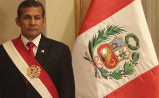"""Humala: """"Mi gobierno hará respetar el Estado de derecho"""""""