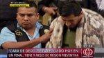 Caso Oropeza: 'Cara de dedo' será recluido hoy en un penal - Noticias de penal sarita colonia