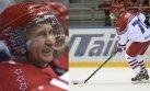 Putin marcó dos goles en partido de hockey sobre hielo [VIDEO]
