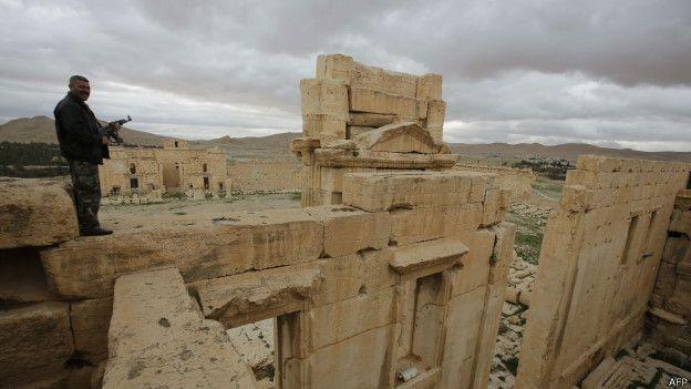 Palmira fue un centro de comercio capaz de rivalizar con cualquier ciudad del Imperio Romano.
