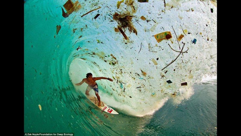 Imágenes apocalípticas de la destrucción del planeta