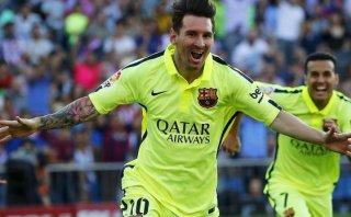 Lionel Messi anotó el gol que le dio el título al Barcelona