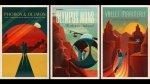 Twitter: los pósteres turísticos a Marte de SpaceX - Noticias de afiches