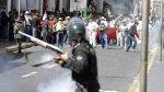 Tía María: más de 263 policías fueron heridos en protestas - Noticias de viáticos