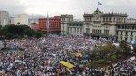 Guatemala: Unas 20.000 personas exigen renuncia del presidente - Noticias de movimiento de contenedores