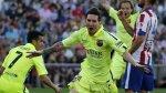 Barcelona campeón de la Liga BBVA tras 1-0 a Atlético de Madrid - Noticias de liga española