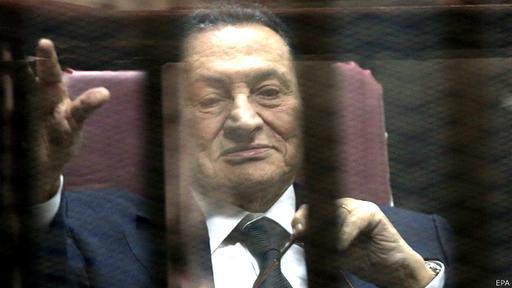 Los cargos contra Mubarak fueron retirados en 2014. El hombre que rigió Egipto durante tres décadas reside en un hospital militar.