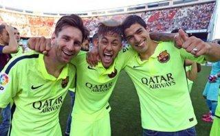 Facebook: el mensaje de Messi por el título de Barcelona