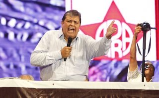 Alan García sobre Humala: Su régimen nació del dinero chavista