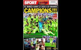 Barcelona: reacciones de la prensa tras el título de la liga