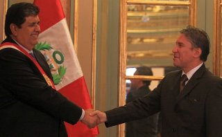 Alan García se solidarizó con su ex ministro Aurelio Pastor