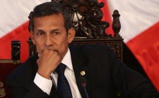 Ollanta Humala: Confirman caída de su aprobación por Tía María