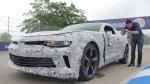 YouTube: Estrellan el Camaro 2016 en un test de periodistas - Noticias de general motors