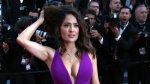 Salma Hayek remece Cannes con sugerente escote (FOTOS) - Noticias de alfombra roja