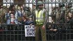 Detienen a 20 estudiantes chilenos tras encadenarse al Congreso - Noticias de valparaiso