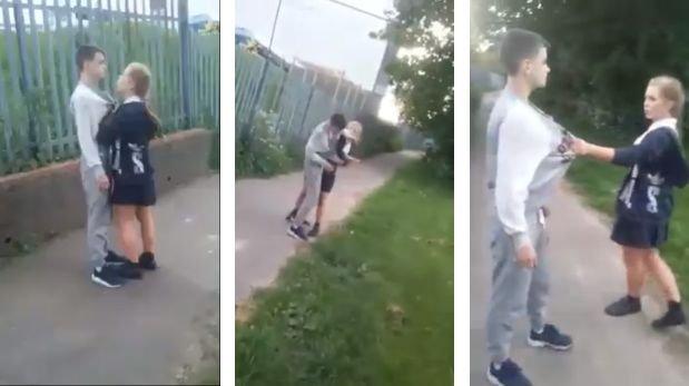 Facebook: chica de 14 años detenida por agredir a adolescente
