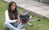 Peruana desarrolló dron que detecta contaminación del aire