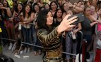 Kylie Jenner compartió en Snapchat video cantando