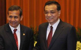 Humala recibe el viernes a primer ministro de China, Li Keqiang