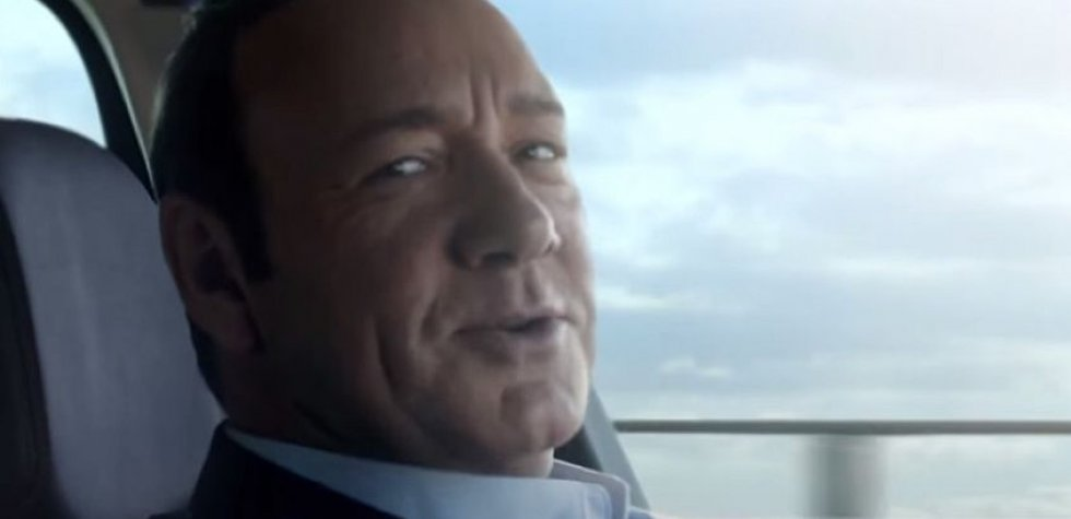 """""""House of Cards"""": Kevin Spacey protagoniza spot de Renault"""