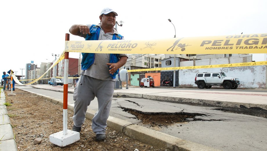 Malecón Costanera intransitable después de solo 14 meses