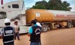Intervienen camión con nueve mil galones de combustible ilegal
