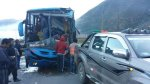 Choque frontal en vía Cusco - Puno dejó 15 heridos - Noticias de accidente