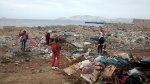Erradicaron 500 metros cúbicos de basura de litoral chimbotano - Noticias de limpieza de playas