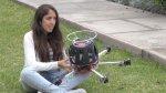 Peruana desarrolló dron que detecta contaminación del aire - Noticias de pueblos jovenes