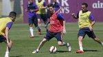 Barcelona: Xavi fue el protagonista en el entrenamiento de hoy - Noticias de xavi hernández
